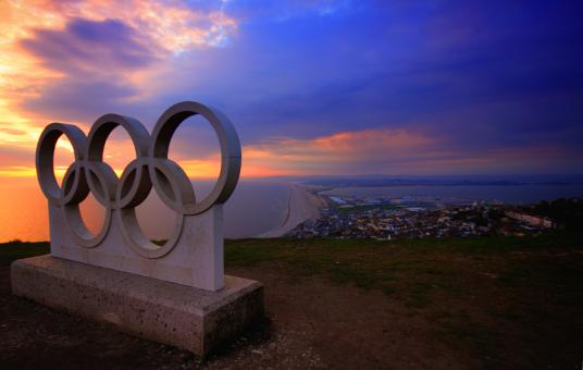 Free Stock Photo of Olympic Rings