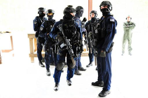 Free Stock Photo of Security Response Team