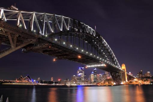 Free Stock Photo of Sydney Harbor Bridge