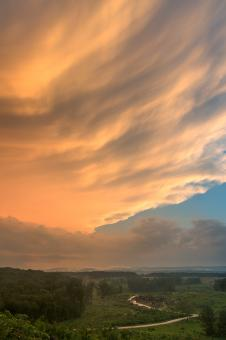 Free Stock Photo of Devil's Den Divine Sunset - HDR