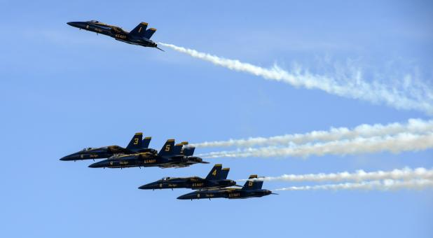 Free Stock Photo of Blue Angels