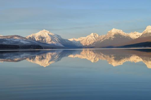 Free Stock Photo of Lake Mcdonald