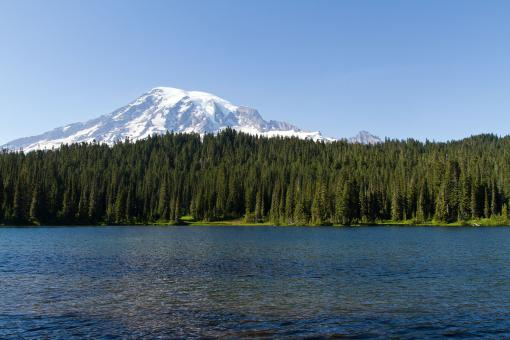 Free Stock Photo of Mount Rainer, Washington.