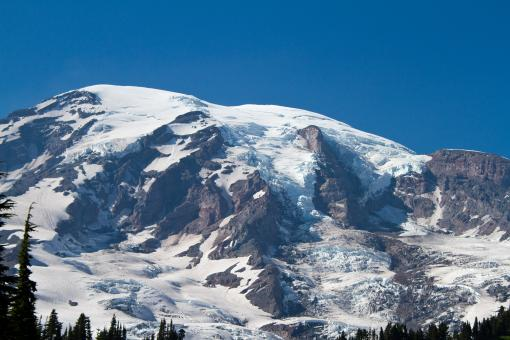 Free Stock Photo of Mount Rainer, Washington