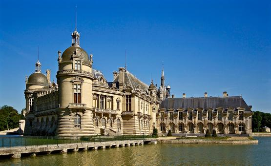 Free Stock Photo of Chateau De Chantilly