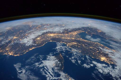 Free Stock Photo of Earth from Space