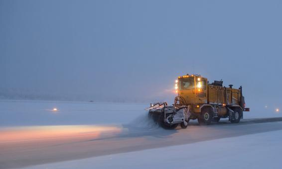 Free Stock Photo of Snowplow