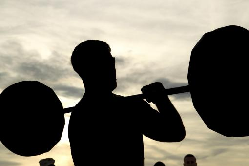 Free Stock Photo of Weight Lifting