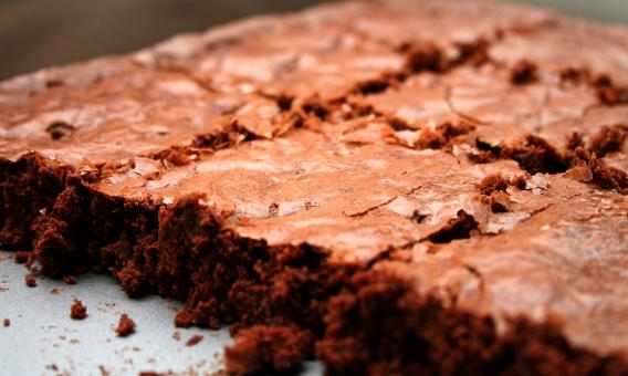 Free Stock Photo of Fudge Brownies