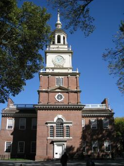 Free Stock Photo of Independence Hall