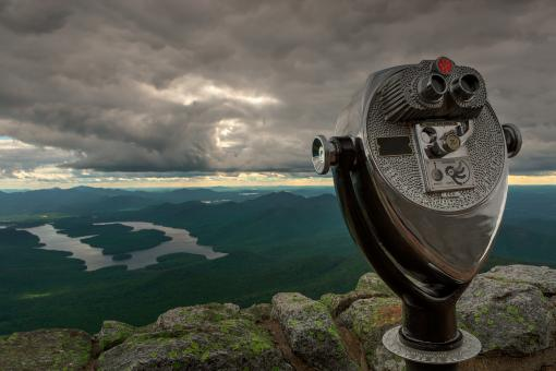 Free Stock Photo of Lake Placid Vista - HDR