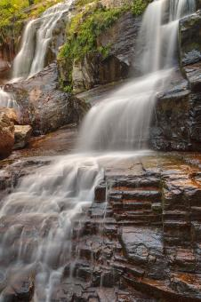 Free Stock Photo of Shelving Rock Falls - HDR