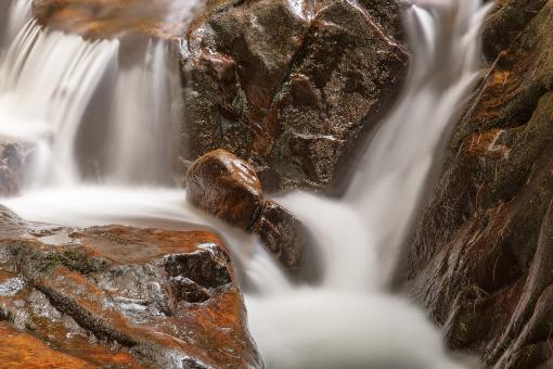 Free Stock Photo of Shelving Rock Stream - HDR