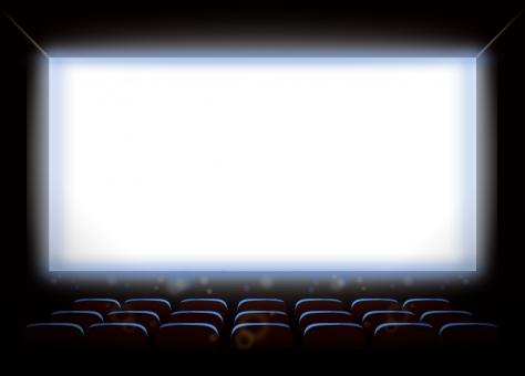 Free Stock Photo of Empty Movie Theatre