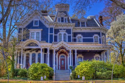 Free Stock Photo of Victorian House