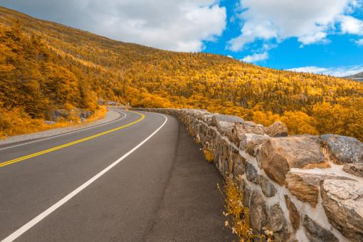 Free Stock Photo of Goldface Mountain Road - HDR