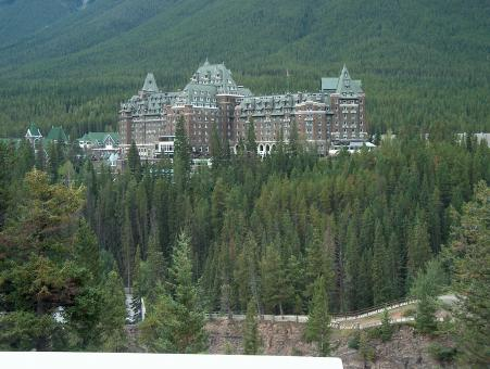 Free Stock Photo of Banff Springs Hotel