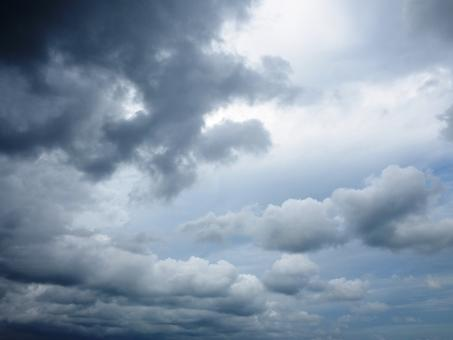 Free Stock Photo of Cloudy Skies