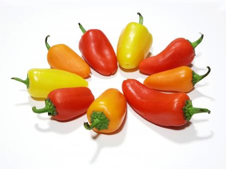 Free Stock Photo of Fresh Paprika