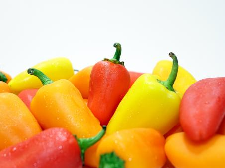 Free Stock Photo of Colorful Paprika