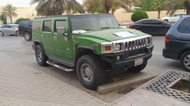 Free Stock Photo of Green Hummer