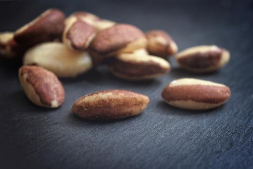 Free Stock Photo of  Brazil Nuts - Fuzzy Faded Looks