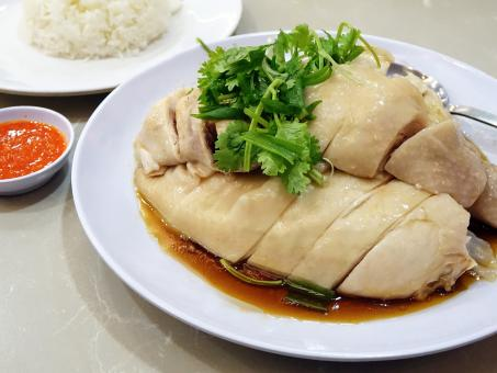 Free Stock Photo of Chicken Rice