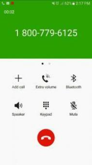 Free Stock Photo of Phone Call Screen