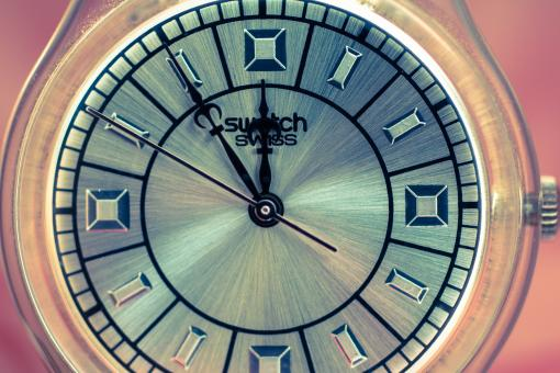 Free Stock Photo of Swiss Clock