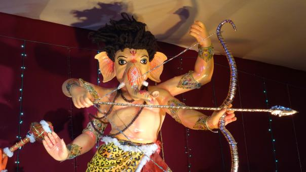 Free Stock Photo of Lord Ganesha Festival