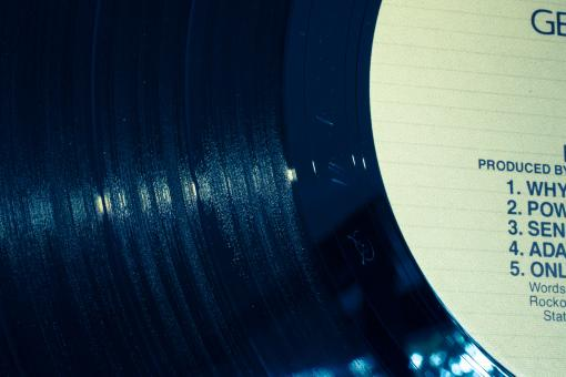 Free Stock Photo of Vinyl Records