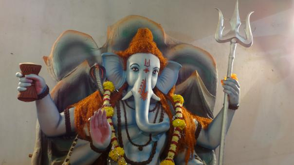 Free Stock Photo of Idol of Ganesha