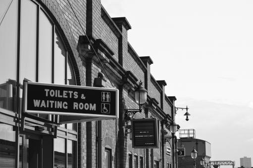 Free Stock Photo of Toilets and Waiting Room