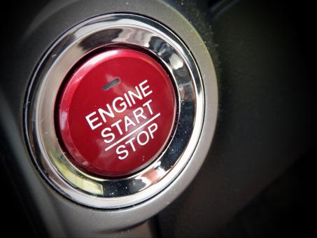 Free Stock Photo of Car Engine Start Button