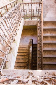 Free Stock Photo of Old Stairs