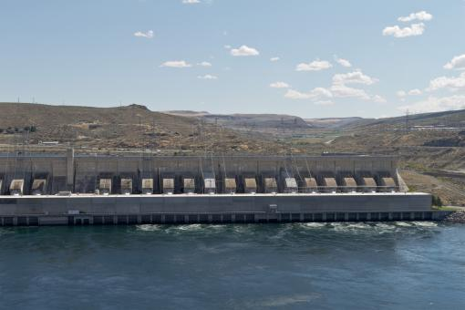 Free Stock Photo of Green Energy - Hydroelectric power station