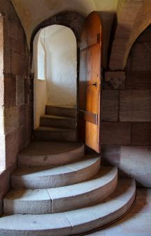 Free Stock Photo of Stairs in the Tower