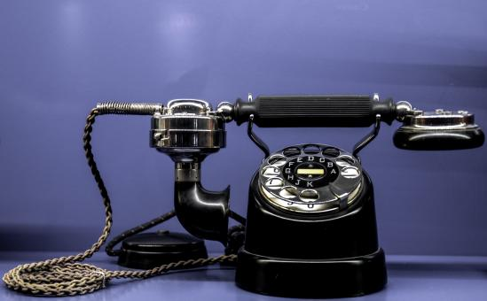 Free Stock Photo of Vintage Phone