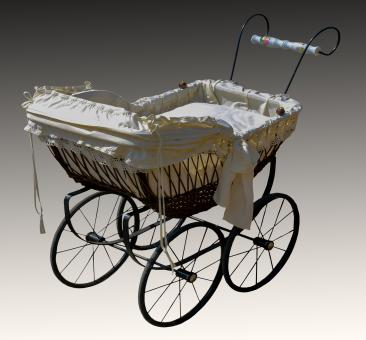 Free Stock Photo of Baby Carriage