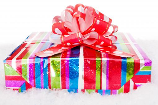 Free Stock Photo of gift box