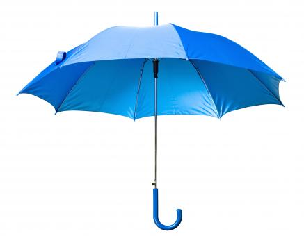 Free Stock Photo of Blue Open Umbrella