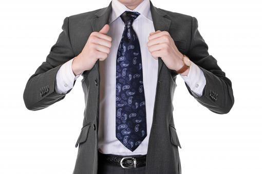 Free Stock Photo of man with necktie