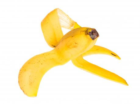 Free Stock Photo of Banana peel