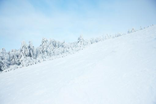 Free Stock Photo of winter ski mountain