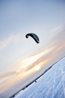 Free Stock Photo of kiting