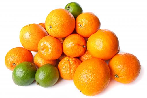 Free Stock Photo of Oranges and lime