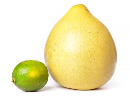 Free Stock Photo of Pomelo and lime
