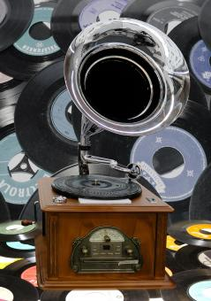 Free Stock Photo of Gramophone