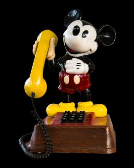 Free Stock Photo of Mickey Phone
