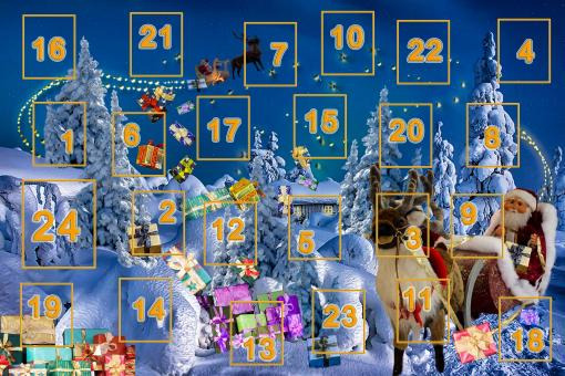 Free Stock Photo of Advent Calendar